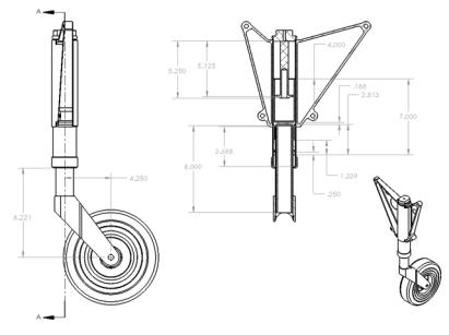 Michael Fuchs Composite Landing Gear Trunnion(2)