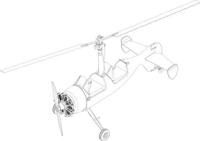 Michael Fuchs Gyroplane