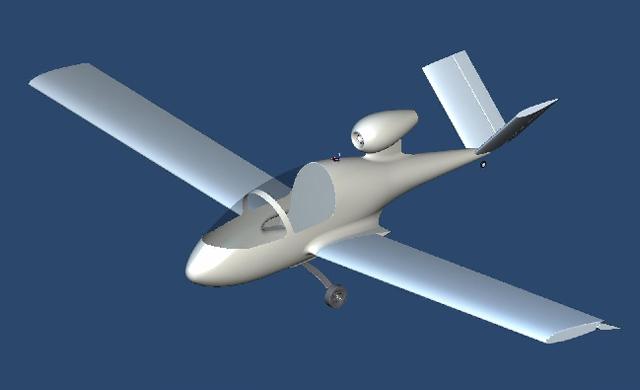 Michael Fuchs Jet Composite Airframe