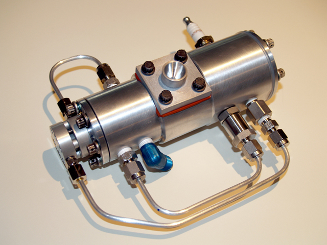 Michael Fuchs Pulse Combustion Thruster