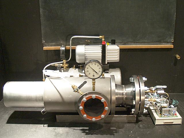 Michael Fuchs Vacuum Chamber